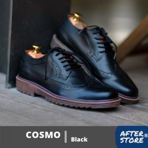 sepatu formal pria cosmo black