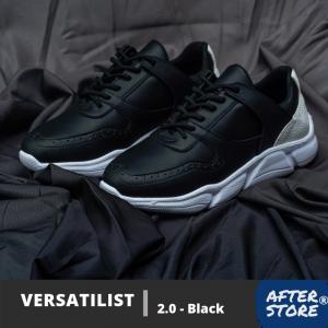 sepatu sneakers pria versatilist 2 black charcoal